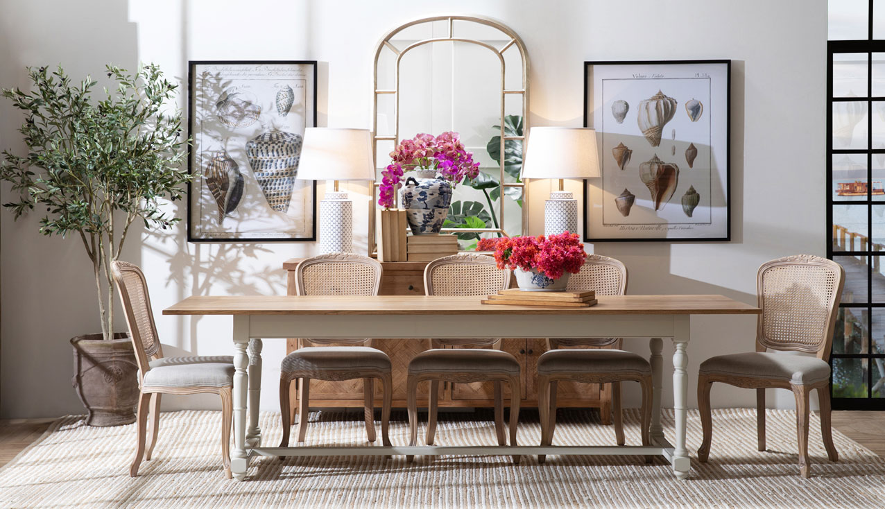 Classic dining table setting feature of the week