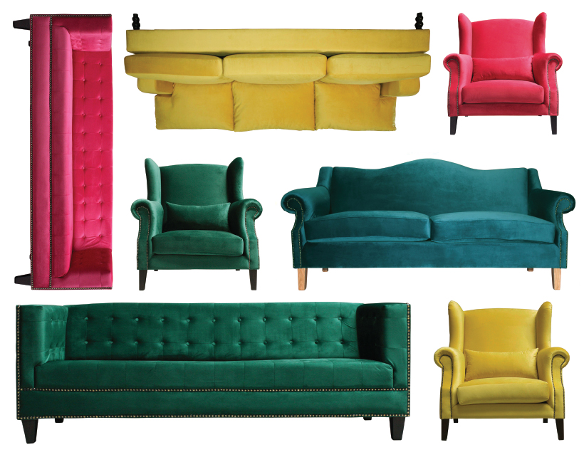 Made-to-order Furniture - Sofas and Loveseats