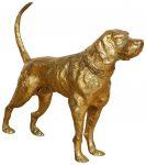 Block & Chisel aluminium dog statue