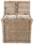 Block and chisel buff laundry basket
