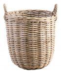 Block & Chisel round koboo rattan basket