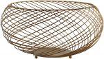 Block & Chisel round iron wire basket