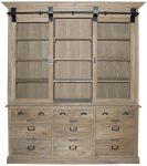 Block & Chisel wooden bookcase
