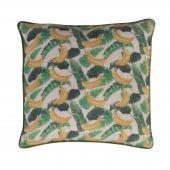 banana pattern cushion