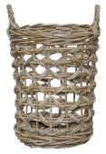 Block & Chisel round rattan basket