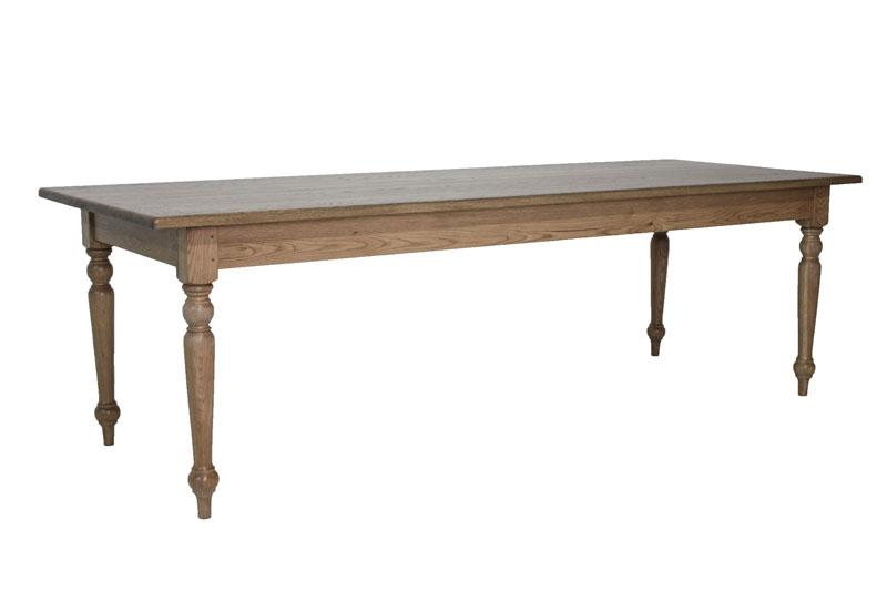 Cape country dining table 3m block chisel for Table 3m