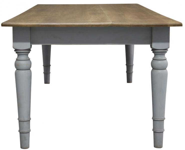 French Country Dining Table Block Chisel