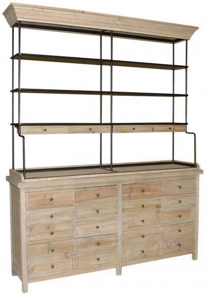 FULHAM OPEN TOP BOOKSHELF