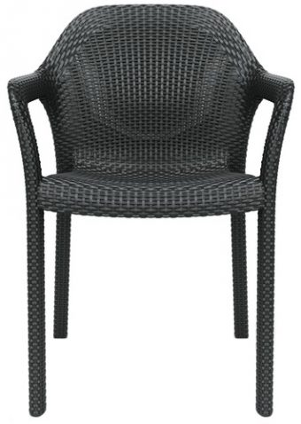 Block & Chisel granite outdoor dining chair