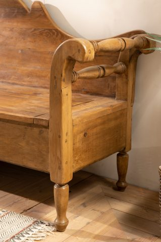 limited edition block and chisel bench with storage