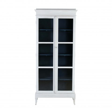 limited edition white cabinet