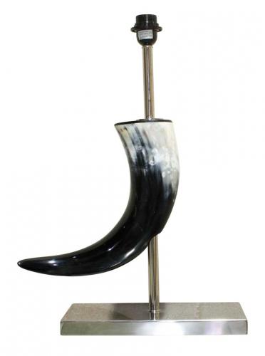 Block & Chisel horn shaped desk lamp