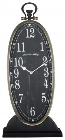 Block & Chisel oval antique clock