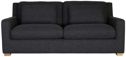 Block & Chisel grey upholstered 2 seater sofa