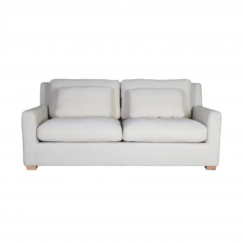 modern 2 seater sofa in cream