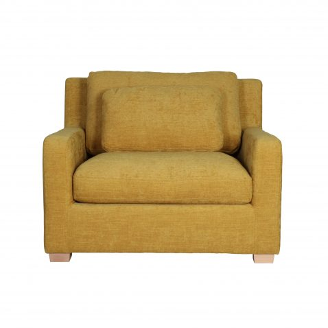 1.5 SEATER CHAIR IN MUSTARD