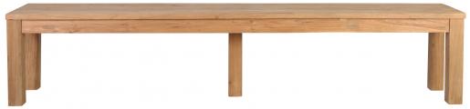 Block & Chisel rectangular wooden indoor bench