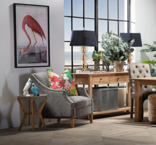 Block & Chisel ceramic bird cockatoo