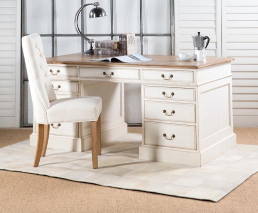 Block & Chisel pedestal desk