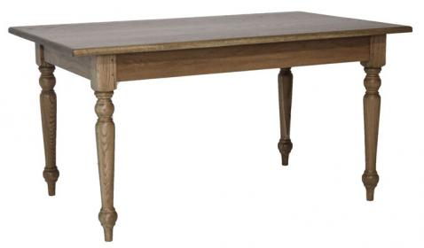 Block & Chisel cape country dining table