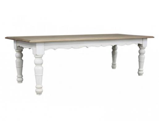 provence dining table block chisel. Black Bedroom Furniture Sets. Home Design Ideas