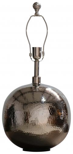 Block & Chisel brass lampbase