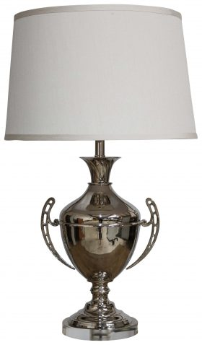 Block & Chisel brass and acrylic lampbase