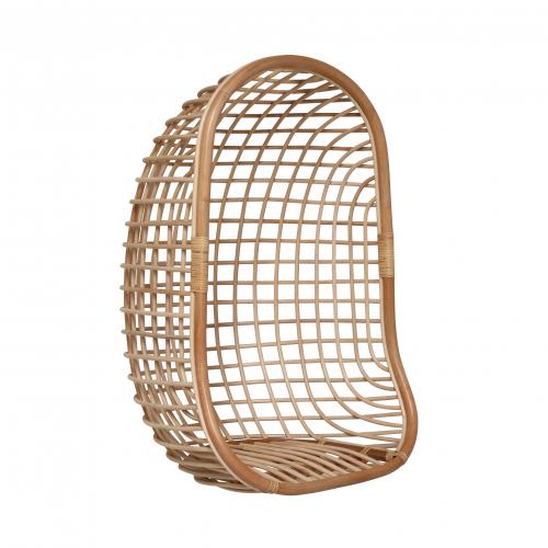 Block & Chisel natural rattan hanging chair