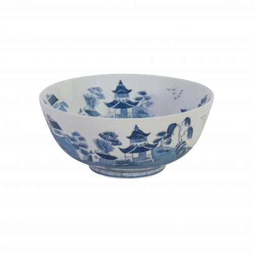 Blue and white ceramic bowl Chinese design
