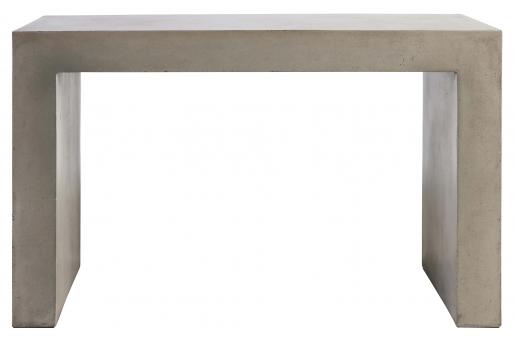 Block & Chisel rectangular concrete console