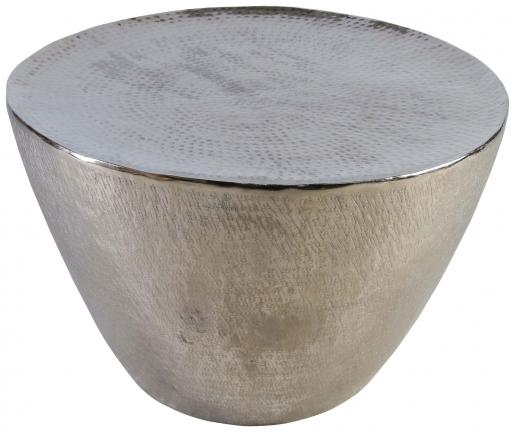 Block & Chisel round aluminium coffee table