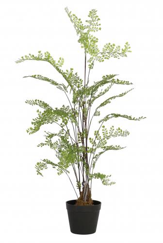 Potted Fern - Green artificial houseplant fern
