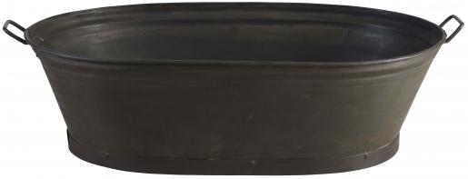 Block & Chisel oval galvanised iron tub