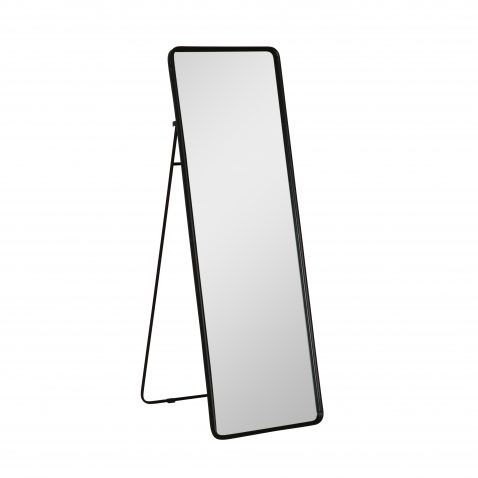 Standing floor mirror with frame stand