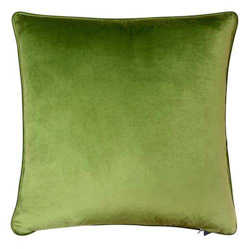 Block & Chisel leaf design green on black