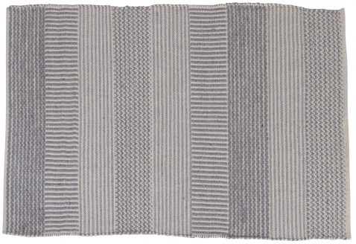 Block & Chisel grey cotton carpet