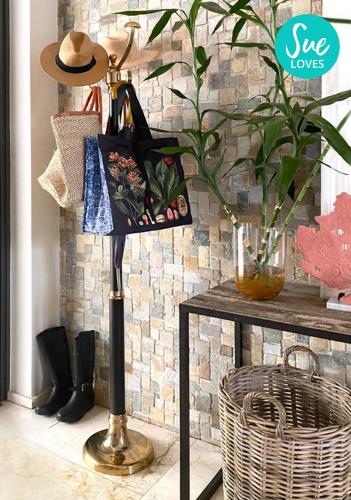 Block & Chisel coat stand