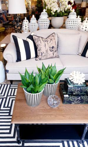 Block & Chisel Yale linen upholstered 3 seater sofa