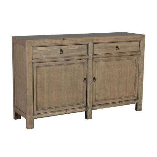 Block & Chisel pine wood sideboard
