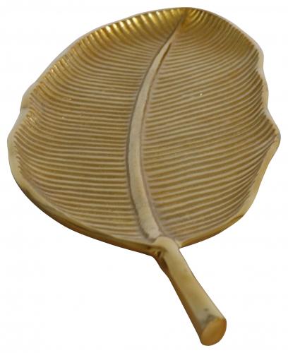 Block & Chisel aluminium leaf platter