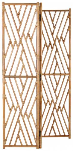 Block & Chisel natural rattan foldable screen