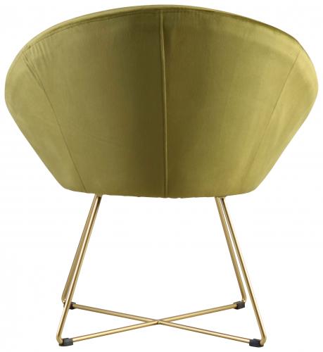 Block & Chisel green velvet upholstered occasional chair