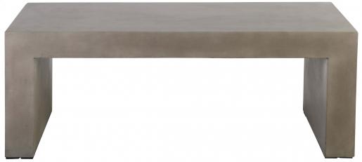 Block & Chisel rectangular concrete bench