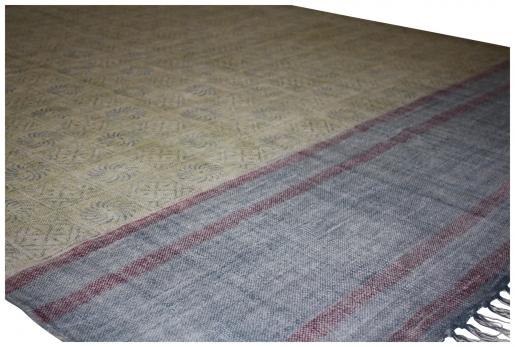 Block & Chisel multi printed cotton rug
