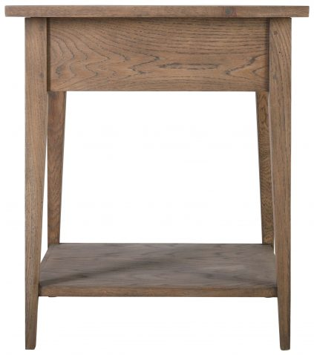 Block & Chisel solid railway oak pedestal