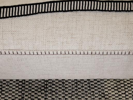 linen left hand corner unit