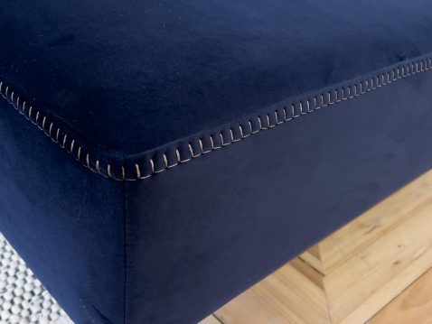 right hand side corner unit in navy