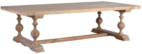 Block & Chisel rectangular wooden coffee table