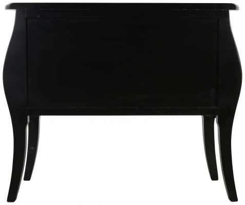 Block & Chisel black french inspired chest of drawers