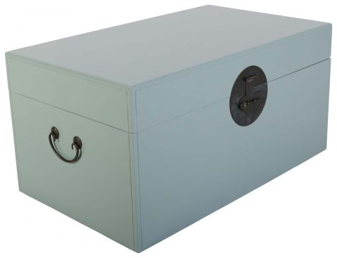 Block & Chisel blue storage chest